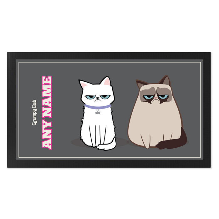 Grumpy Cat Charcoal Pet Mat