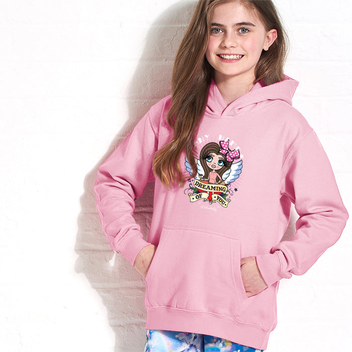 ClaireaBella Girls Dreaming Hoodie