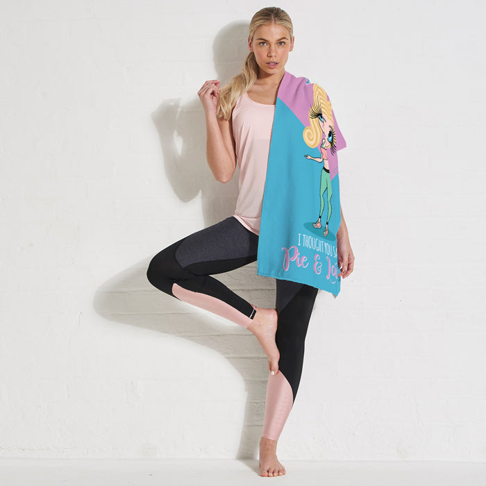 ClaireaBella Pilates Gym Towel