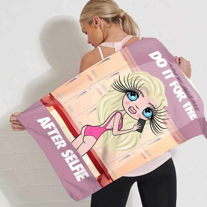 ClaireaBella After Selfie Gym Towel
