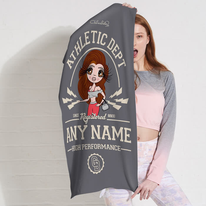 ClaireaBella High Performance Gym Towel