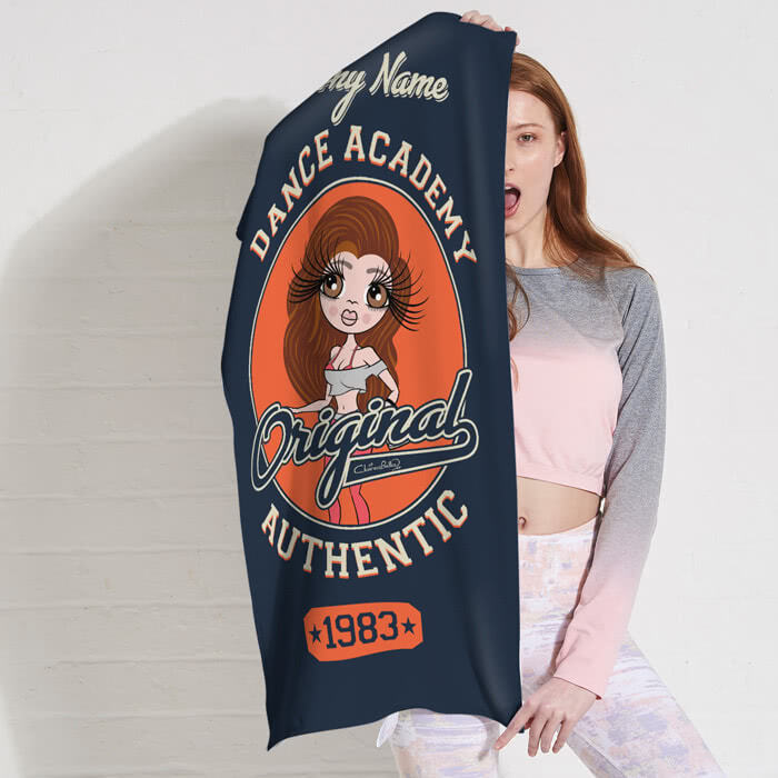 ClaireaBella Varsity Gym Towel