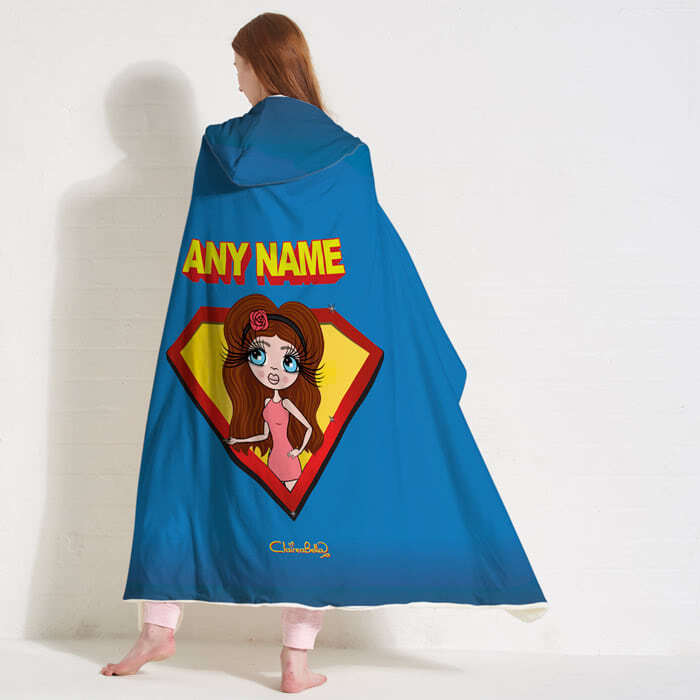 ClaireaBella Hero Hooded Blanket