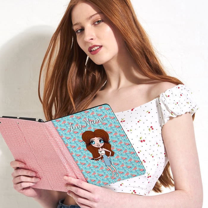 ClaireaBella Flamingo iPad Case