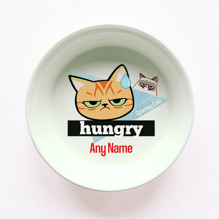 Grumpy Cat Hungry Cat Bowl
