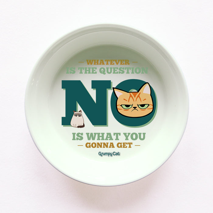 Grumpy Cat No Cat Bowl
