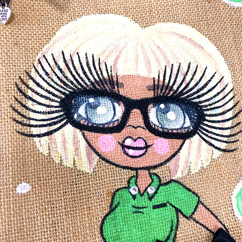 ClaireaBella Shop Worker Jute Bag - Large
