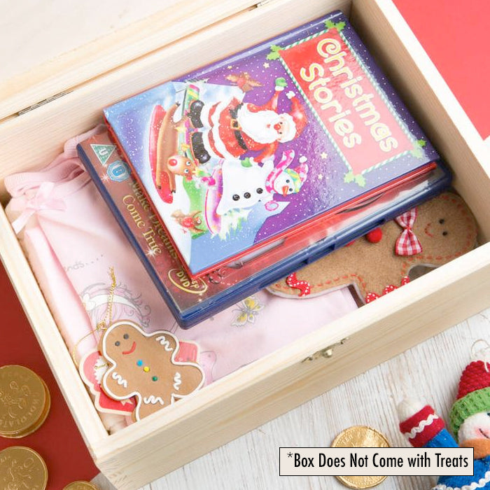 ClaireaBella Girls Letter To Santa Christmas Eve Box