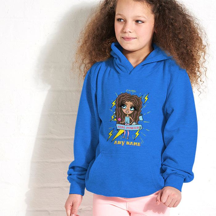ClaireaBella Girls Girl Power Hoodie