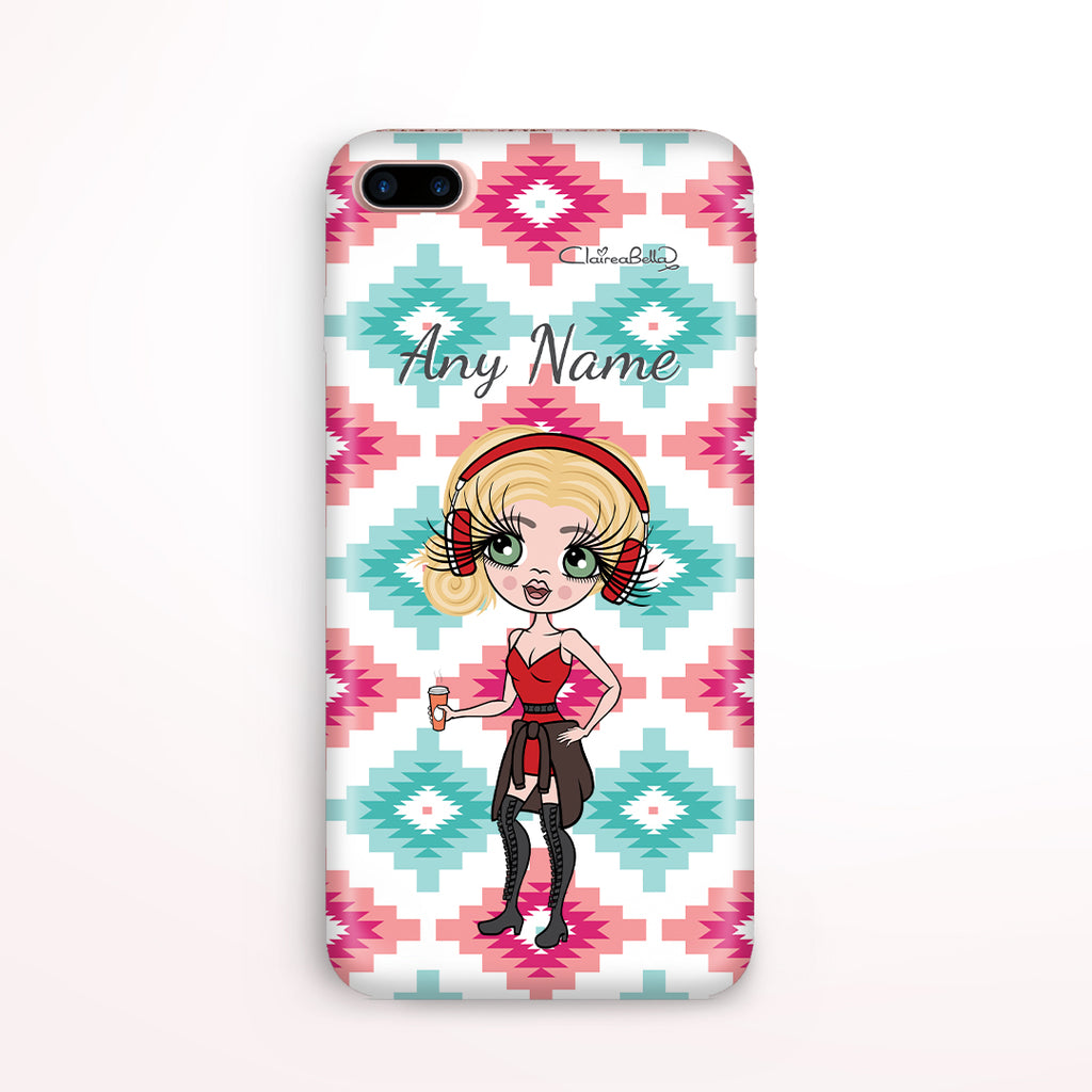 ClaireaBella Personalised Aztec Geo Phone Case