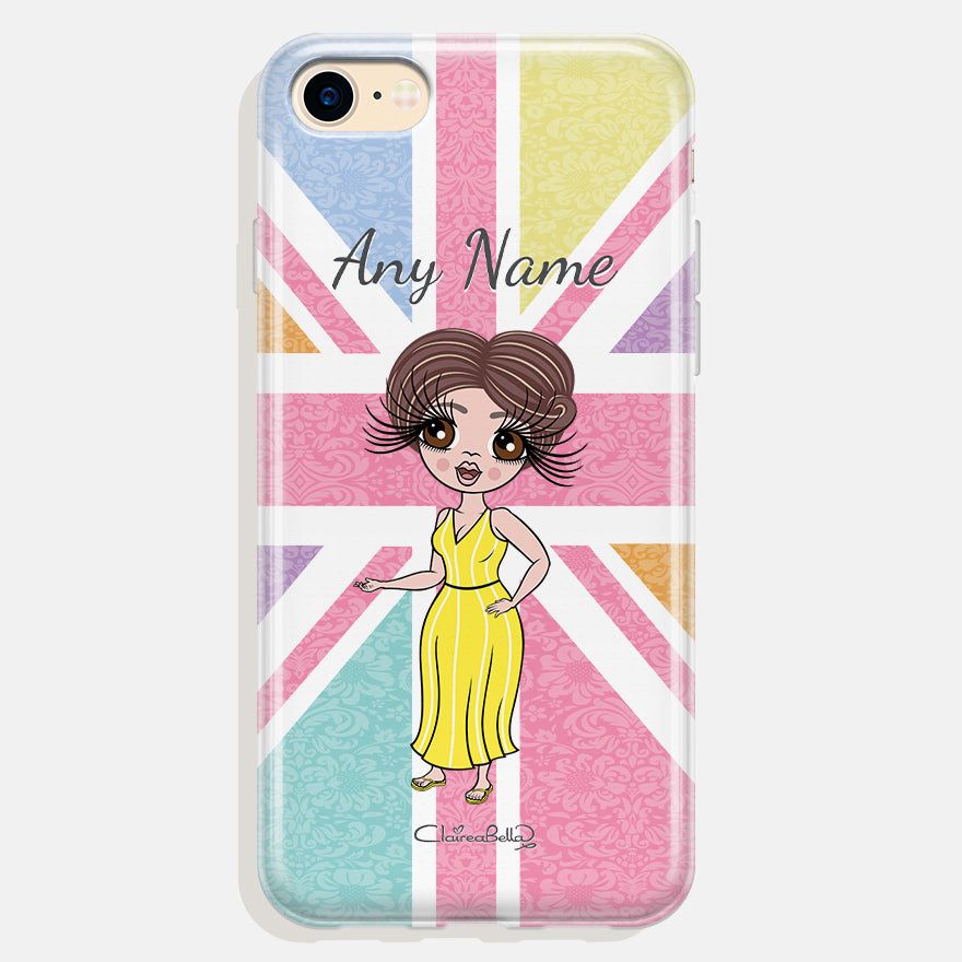 ClaireaBella Personalised Union Jack Phone Case
