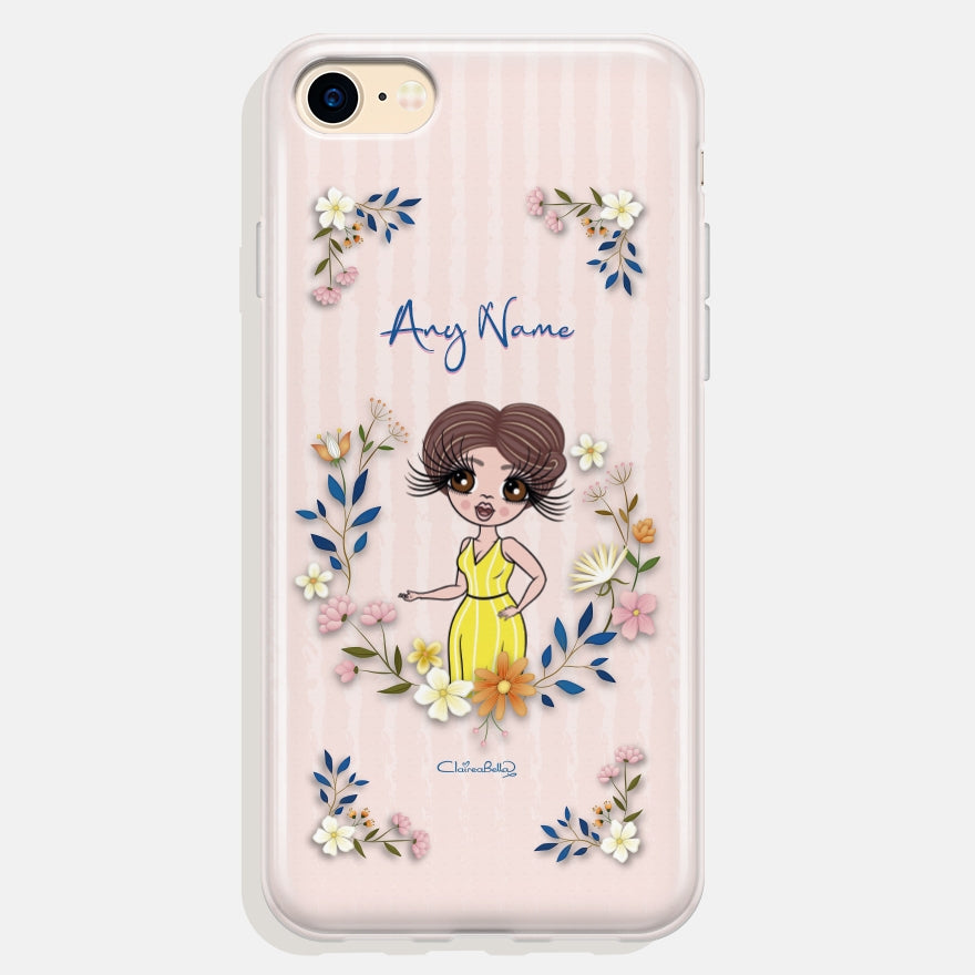 ClaireaBella Floral Frame Phone Case - Image 1