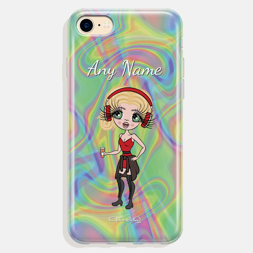 ClaireaBella Personalised Hologram Phone Case