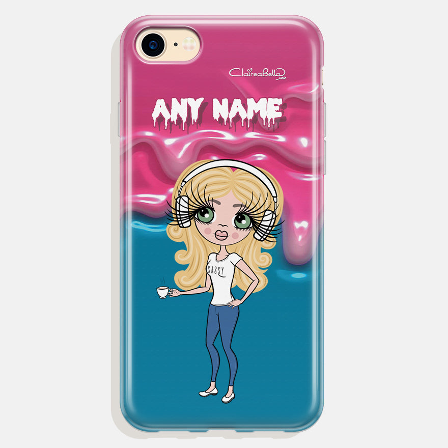 ClaireaBella Personalised Unicorn Slime Phone Case