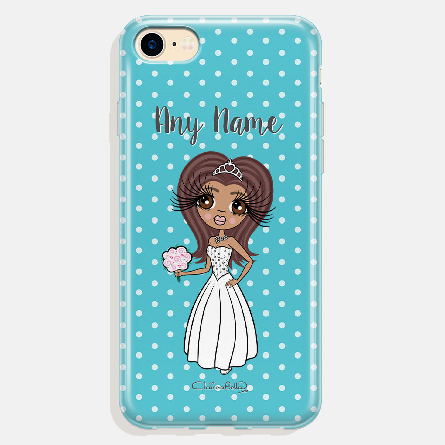 ClaireaBella Personalised Polka Dot Phone Case