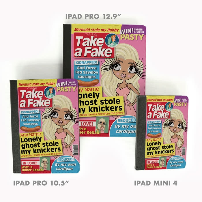 ClaireaBella Fake News iPad Case - Image 7