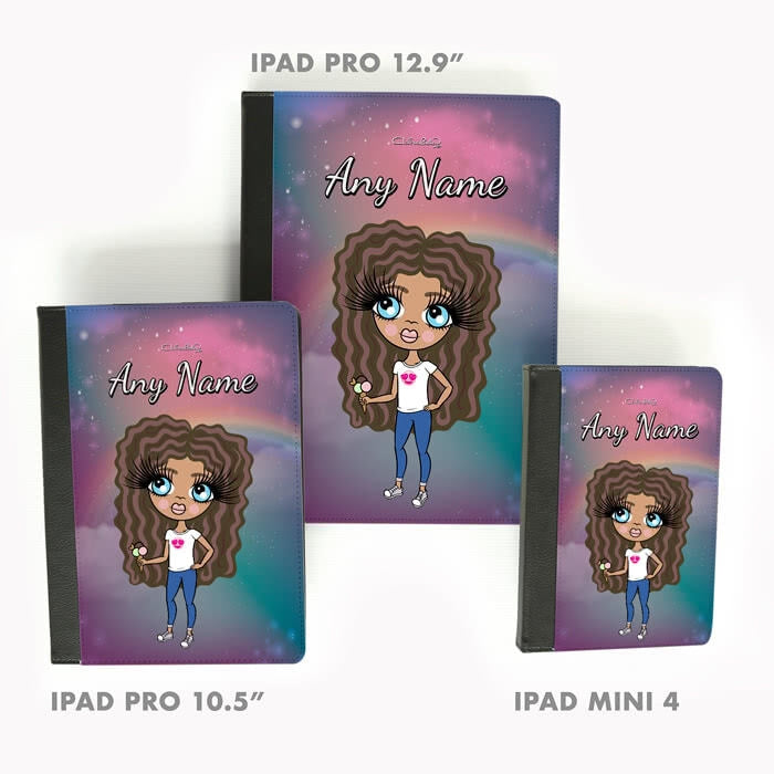 ClaireaBella Girls Unicorn Colours Ipad Case - Image 5
