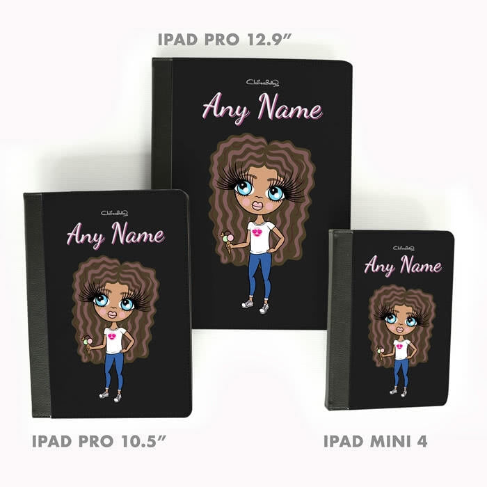 ClaireaBella Girls Black iPad Case - Image 5