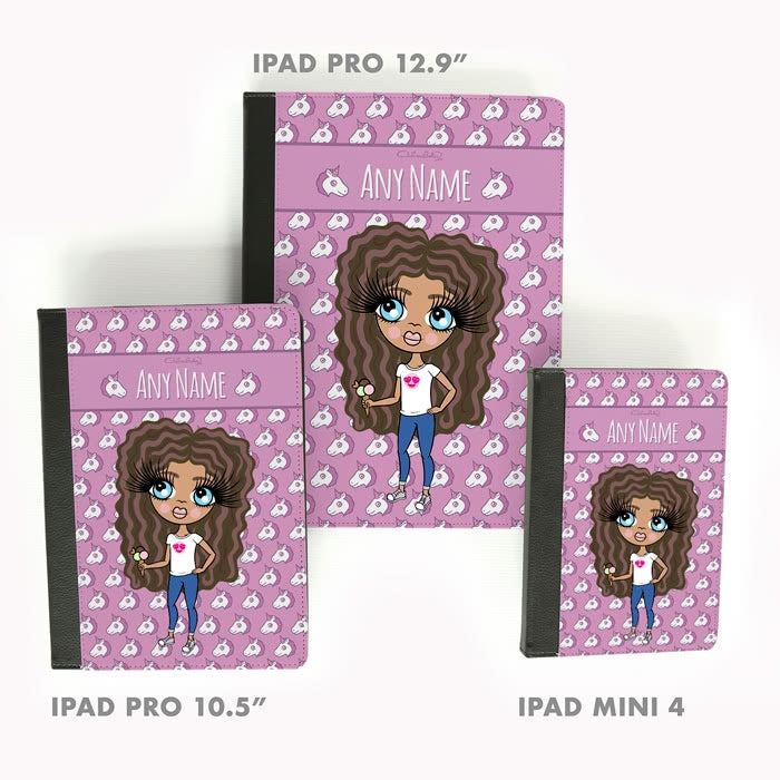ClaireaBella Girls Unicorn Emoji iPad Case - Image 5