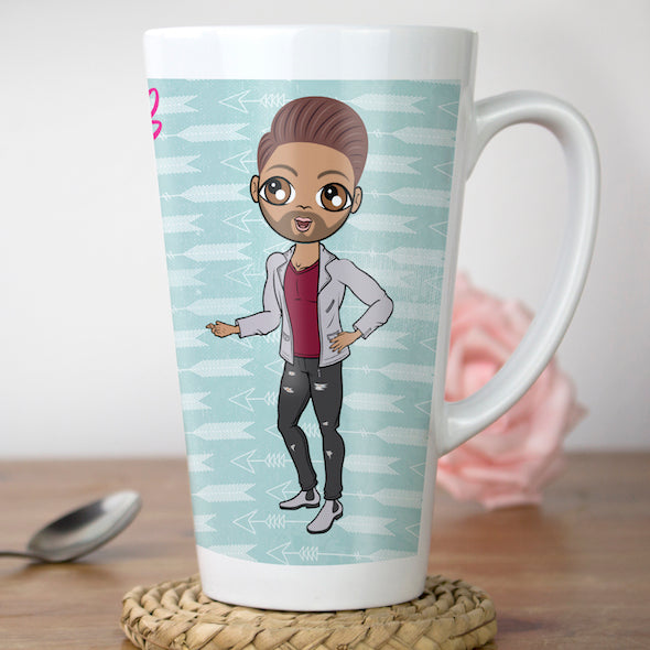MrCB Cupid's Arrow Latte Mug - Image 1