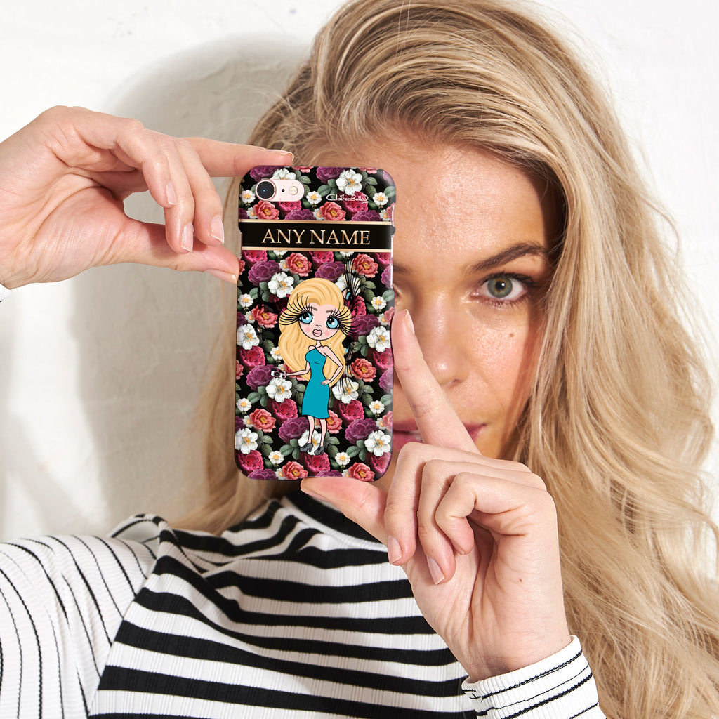 ClaireaBella Floral Phone Case