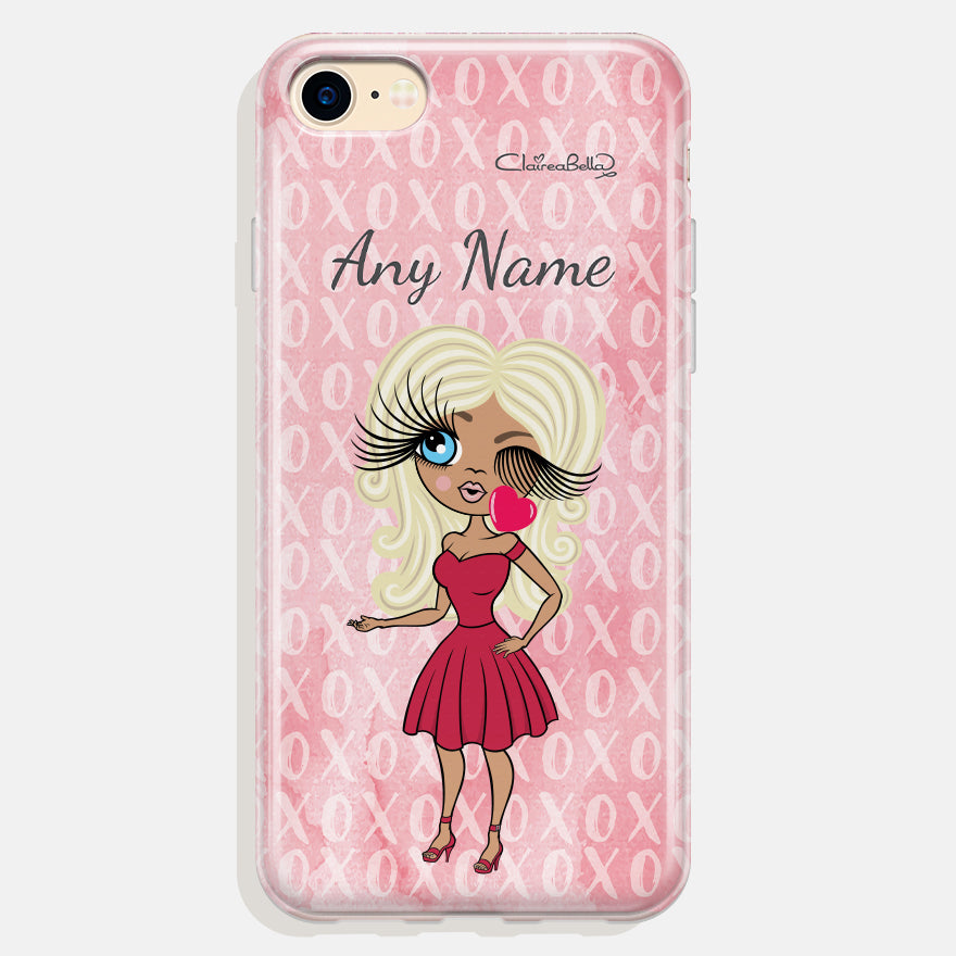 ClaireaBella Personalised XO Phone Case