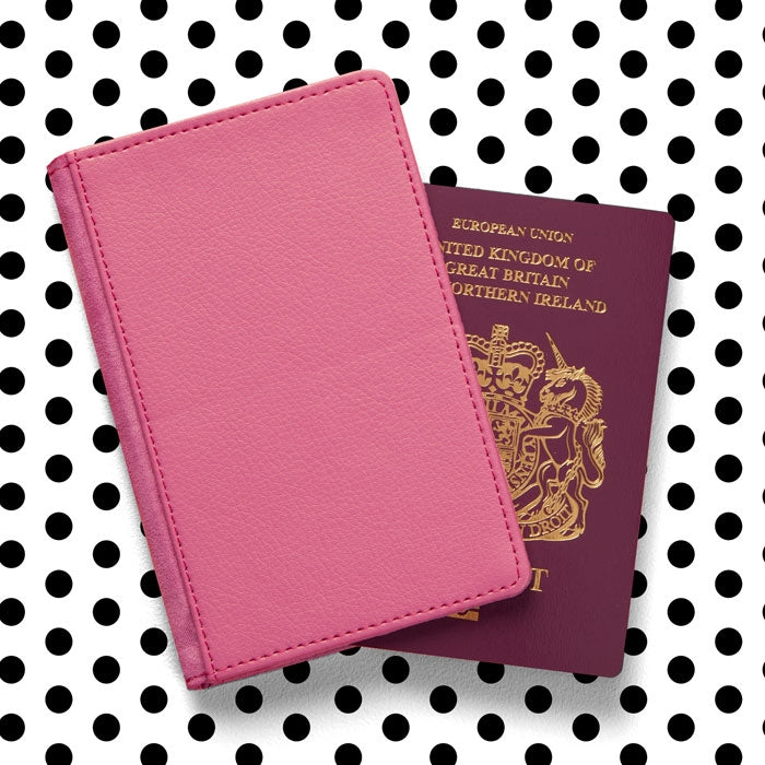 Betty Boop Red Glitter Effect Passport Cover - Image 2