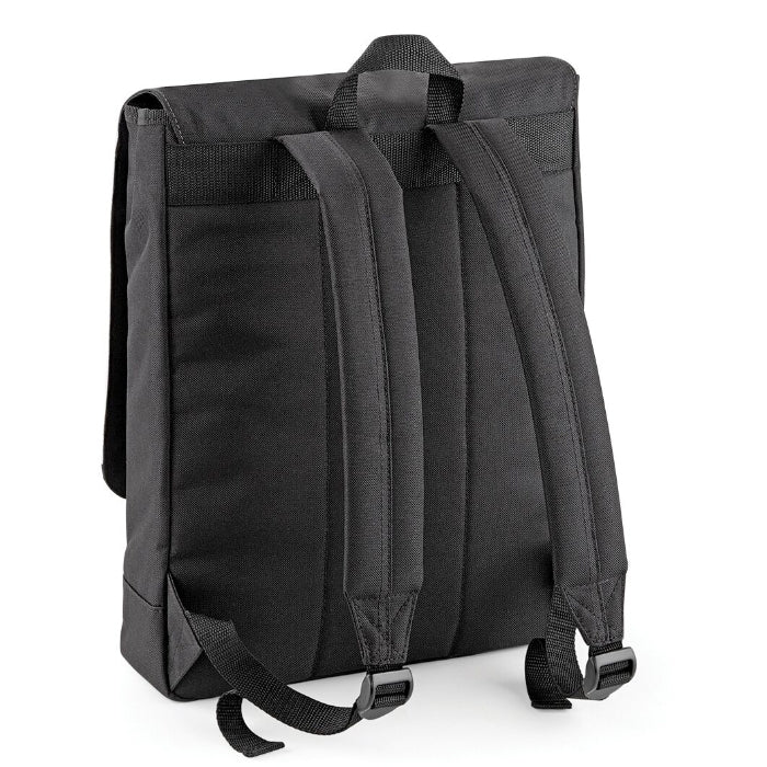 Jnr Boys Blue Print Backpack - Image 2