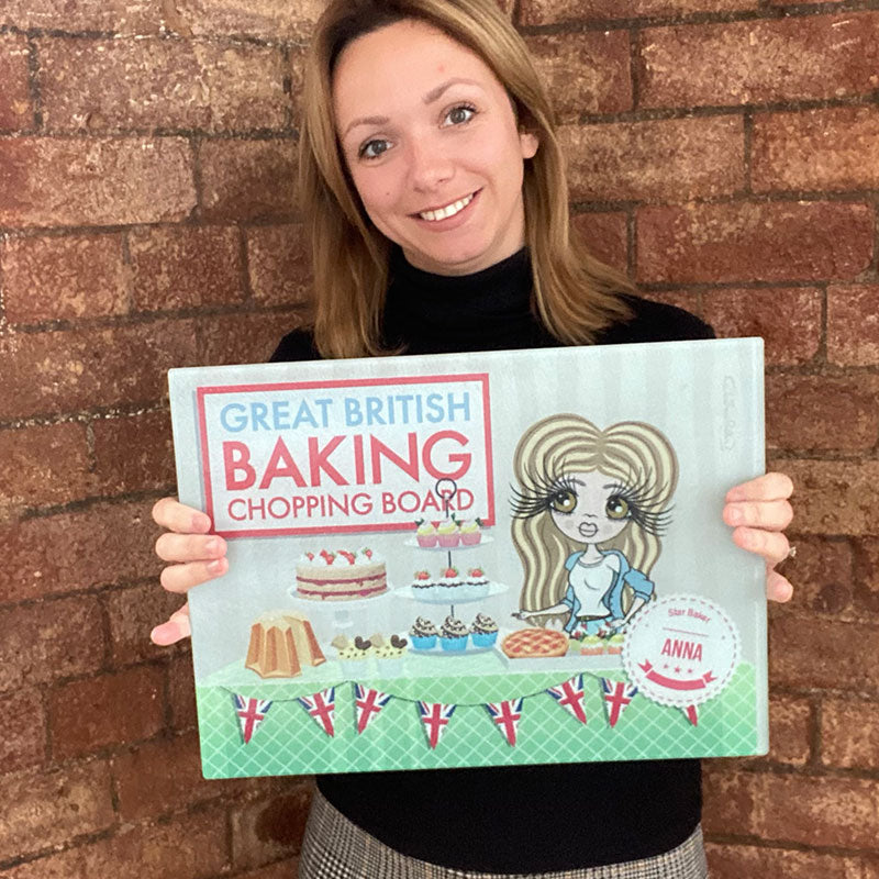 ClaireaBella Landscape Glass Chopping Board - Baking Competition