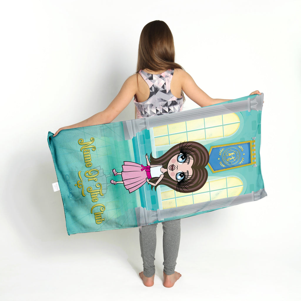 ClaireaBella Girls Ballroom Gym Towel - Image 3