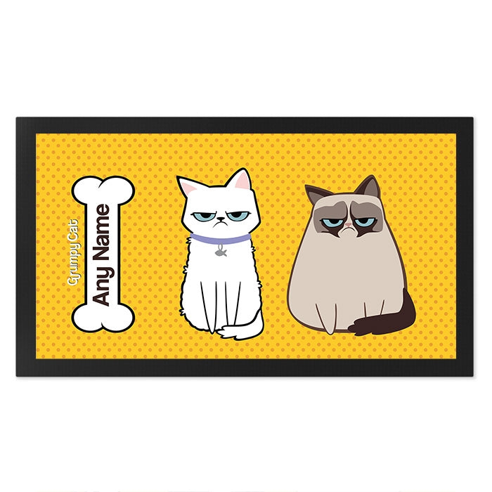 Grumpy Cat Polka Dot Pet Mat - Image 2