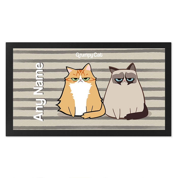 Grumpy Cat Stripe Pet Mat - Image 2