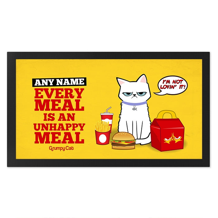 Grumpy Cat Unhappy Meal Pet Mat - Image 2