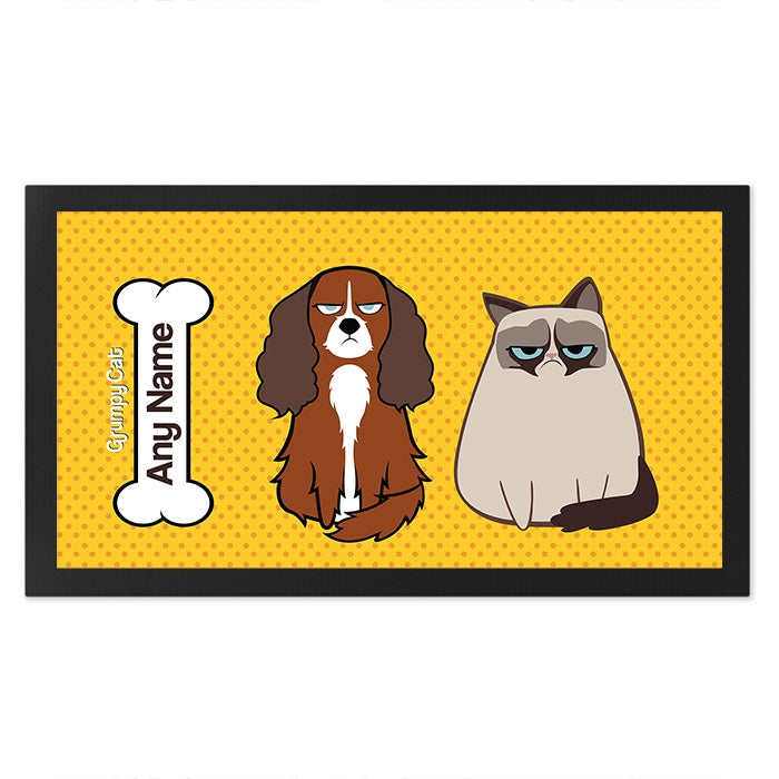 Grumpy Cat Polka Dot Pet Mat - Image 3