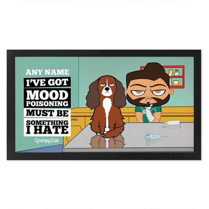 Grumpy Cat Mood Poisoning Pet Mat - Image 3