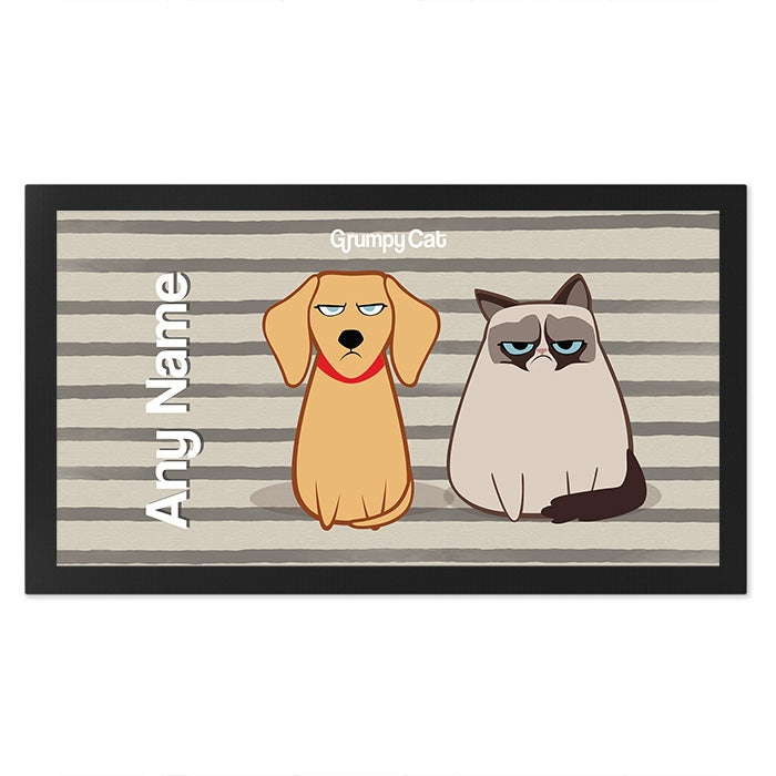 Grumpy Cat Stripe Pet Mat - Image 3