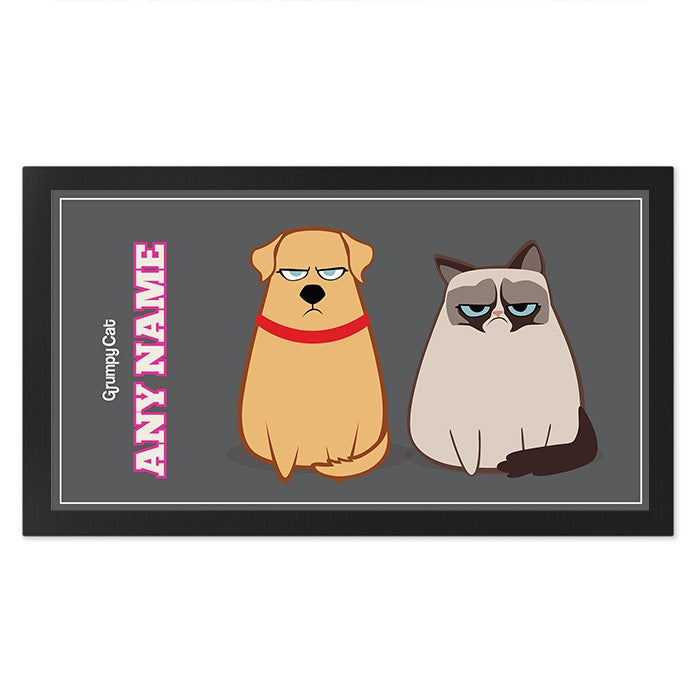 Grumpy Cat Charcoal Pet Mat - Image 1