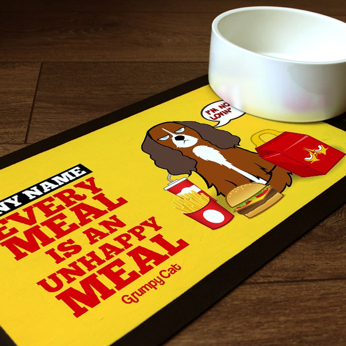 Grumpy Cat Unhappy Meal Pet Mat - Image 1