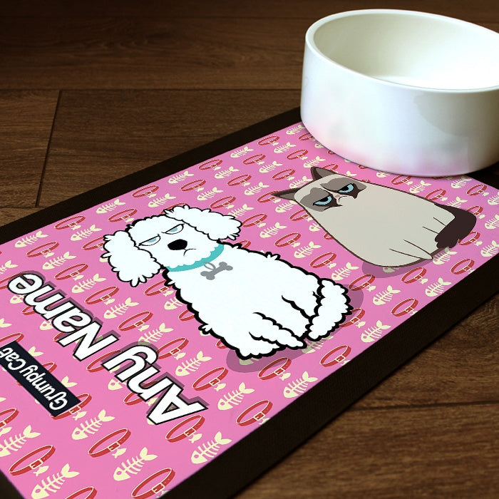 Grumpy Cat Fish Collar Pet Mat - Image 1