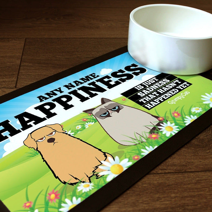 Grumpy Cat Happiness Pet Mat - Image 1