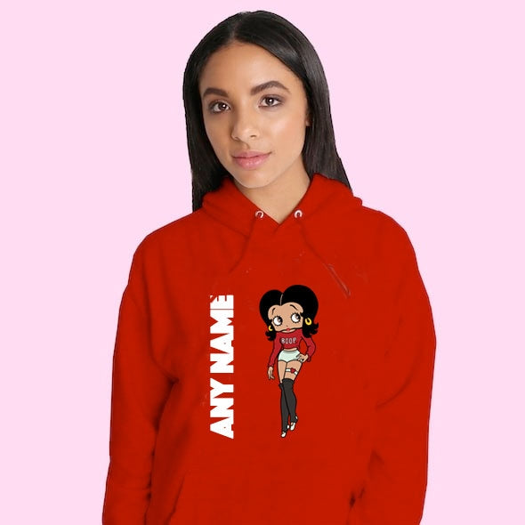 Betty Boop Personalised Hoodie - Image 1