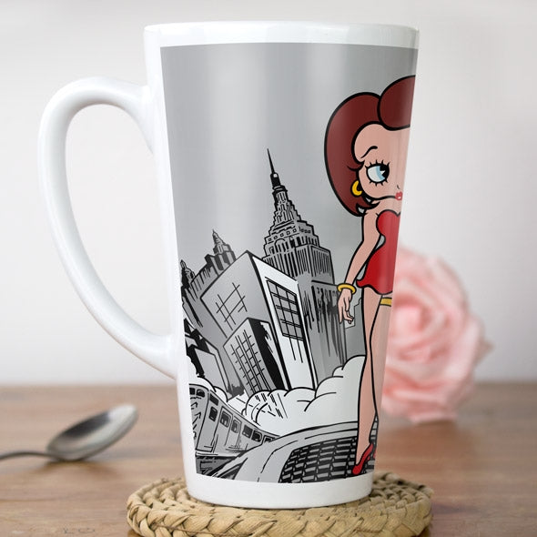 Betty Boop City Nights Latte Mug - Image 2