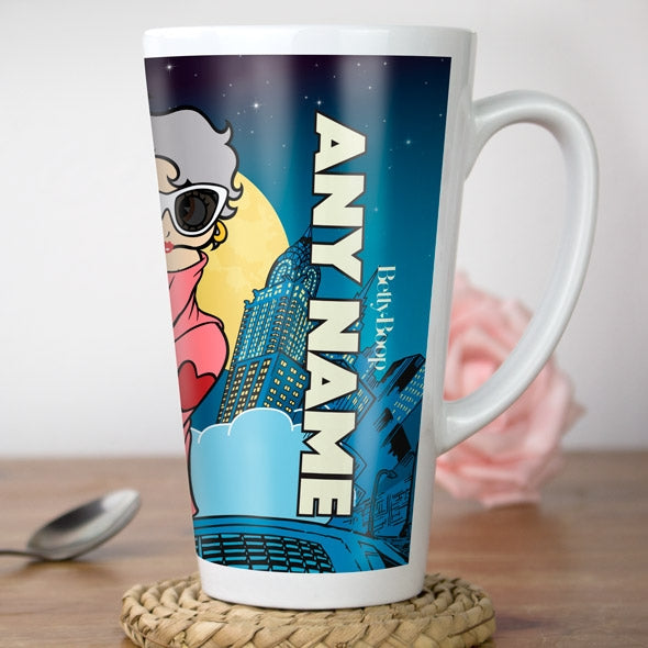 Betty Boop City Nights Latte Mug - Image 4