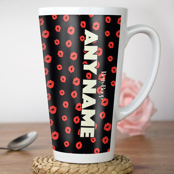 Betty Boop A Thousand Kisses Latte Mug - Image 3