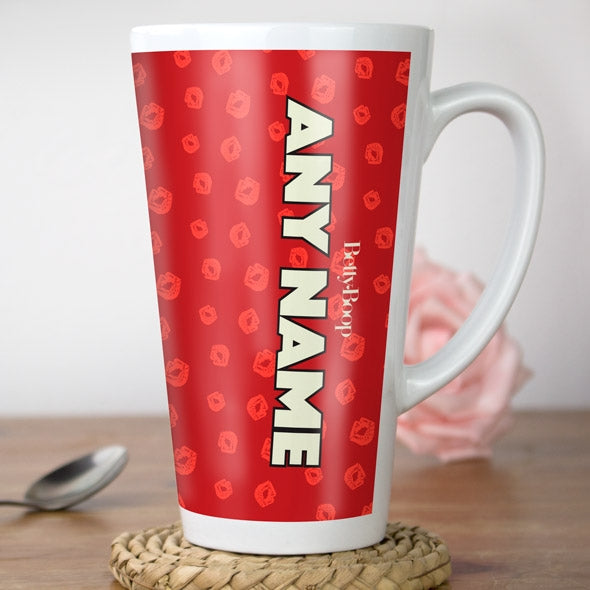 Betty Boop A Thousand Kisses Latte Mug - Image 4