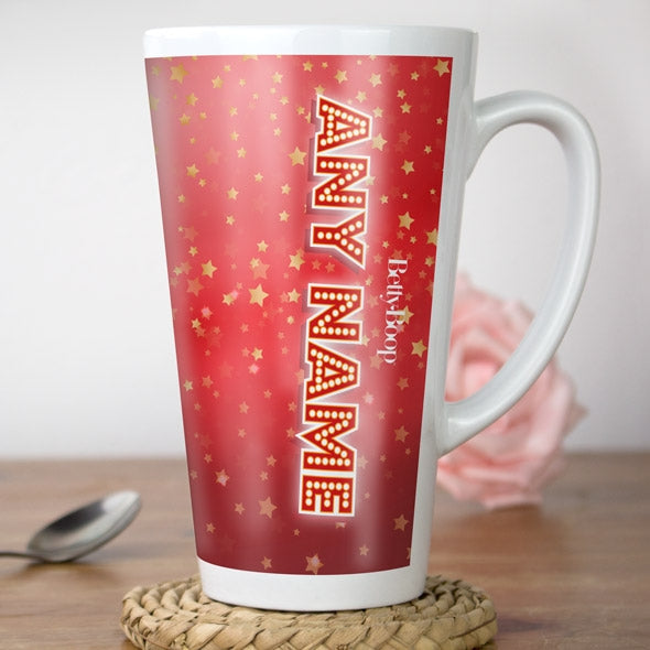 Betty Boop Star Light Latte Mug - Image 2