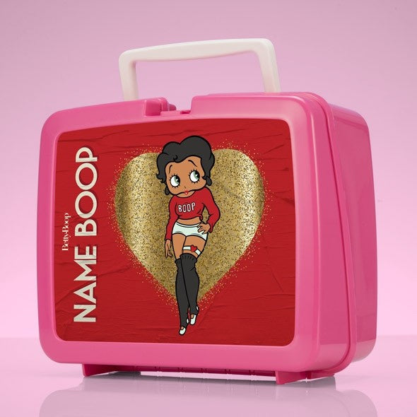 Betty Boop Glitzy Heart Lunch Box - Image 1