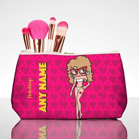Betty Boop Sweet Hearts Make Up Bag - Image 1