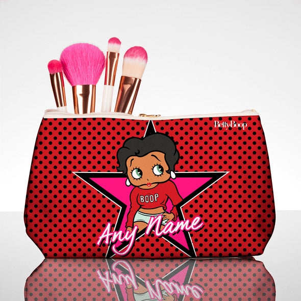 Betty Boop Polka Star Make Up Bag - Image 1