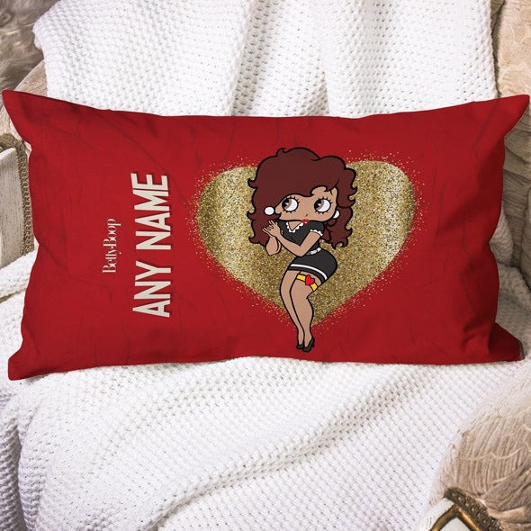 Betty Boop Glitzy Heart Placement Cushion - Image 1